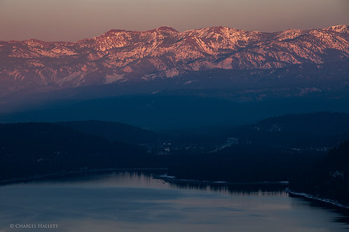 Donner Pass Sunset