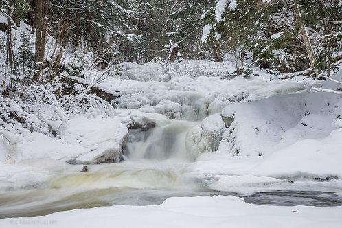 Frozen Upper Morgan Falls