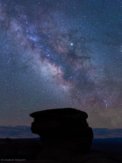 Milky Way above Hoodoo