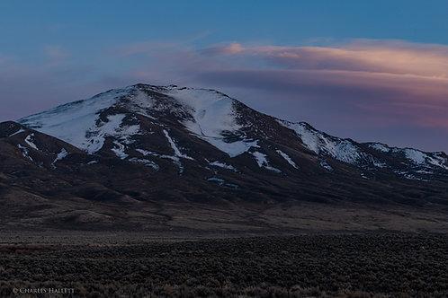 Nevada Hillside Sunset