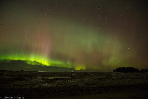 Curtain over Lake Superior