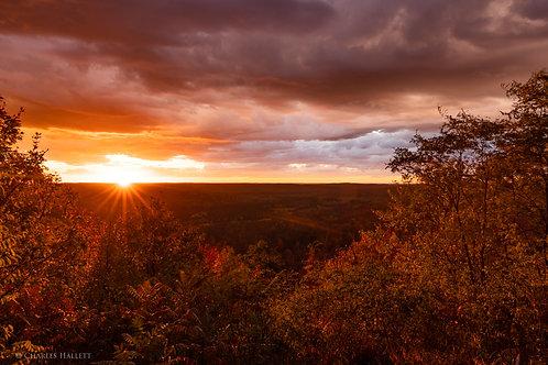 Deadman's Hill Fall Sunset Sunstar