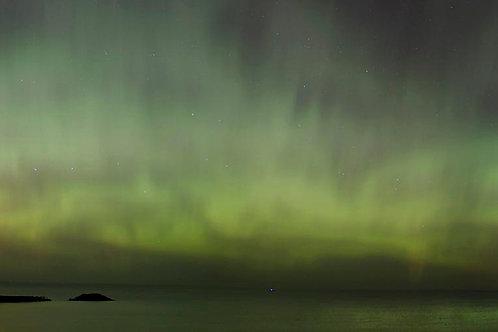 Northern Lights Panorama