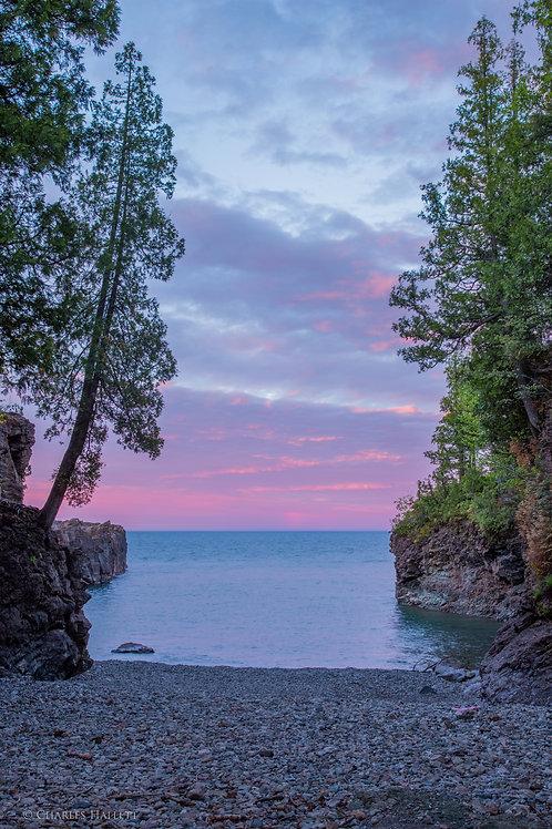 Blackrocks Cove Sunset
