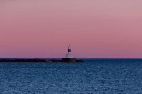 Nightfall at Upper Harbor