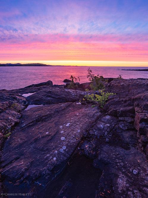 Red Blackrocks Sunset