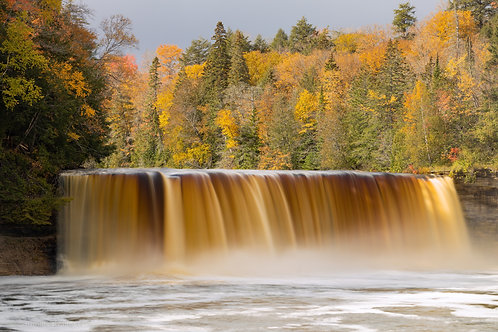Tahquamenon Falls under Fall Color