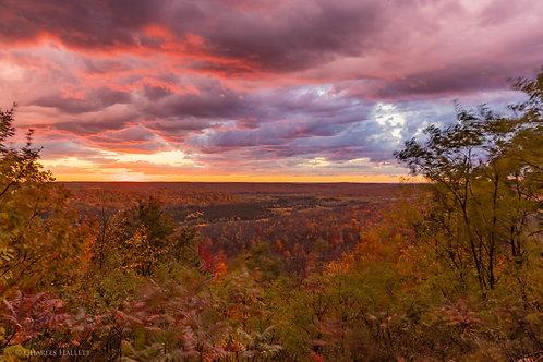Deadman's Hill Fall Sunset