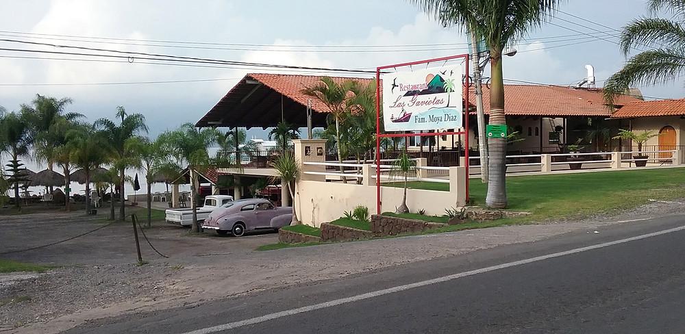 Las Gaviotas Restaurant west of Ajijic