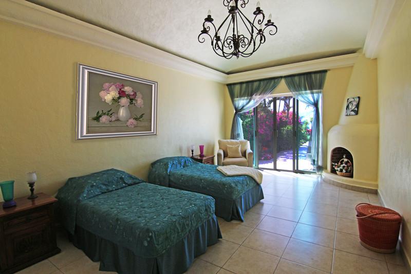 Tidy Bedroom in Ajijic, Mexico