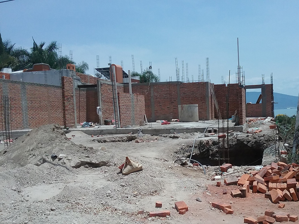 House construction Lake Chapala