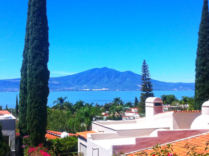Lake Chapala view of Mt. Garcia