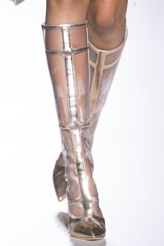 HauteCouture Grid Boots