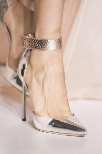 HauteCouture Empire Pump Ankle Strap
