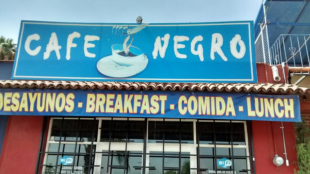 Cafe Negro, Ajijic