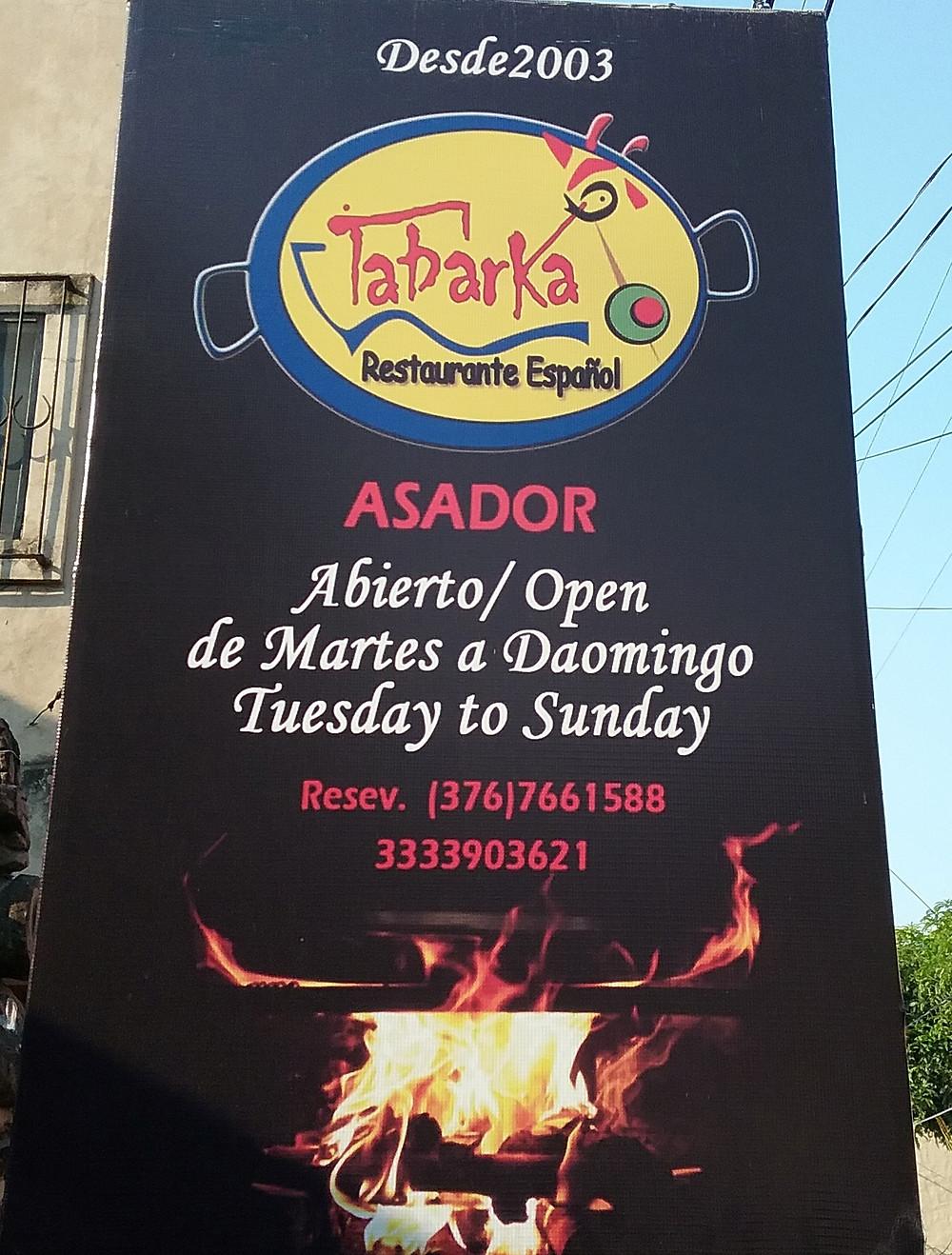 Tabarka Restaurant, Ajijic