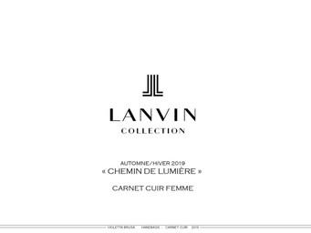 Lanvin FW _ Reflets de Lumiere _ Footwea