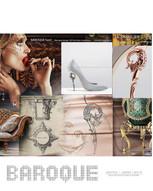baroque heel pump