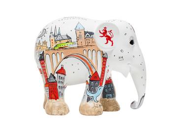 Парад слонов в Люксембурге