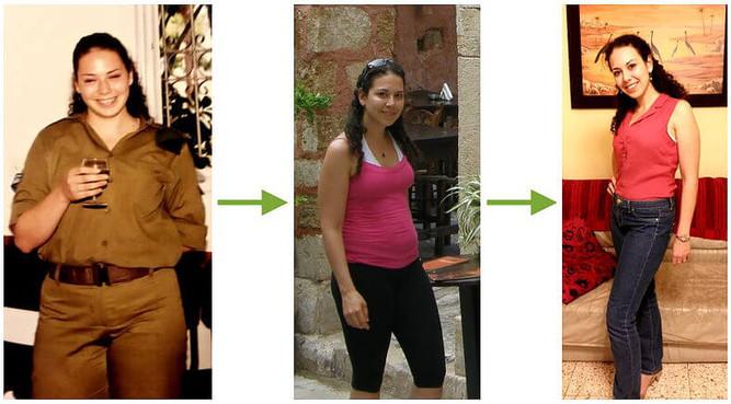 סיגלית פז - דיאטנית קלינית בתהליך של הרזיה ללא דיאטה