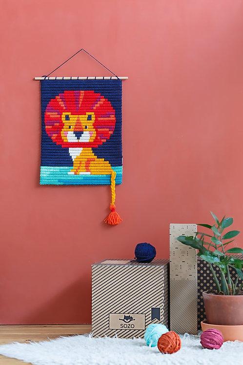 Kit de tissage Lion
