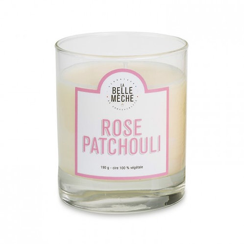 Bougie parfumée Rose Patchouli