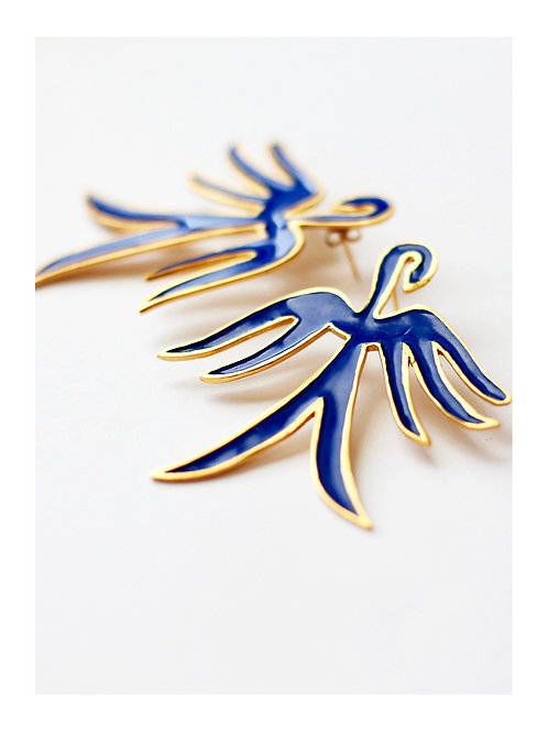 Boucles Blue bird