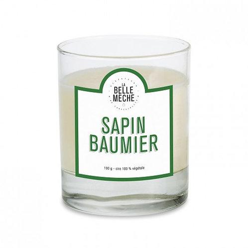 Bougie parfumée Sapin baumier