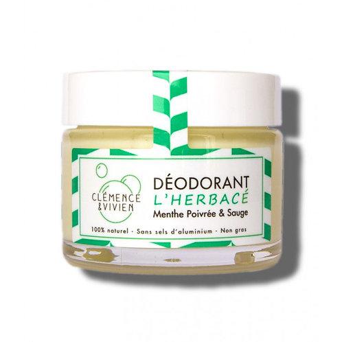 Déodorant crème - Menthe&Sauge