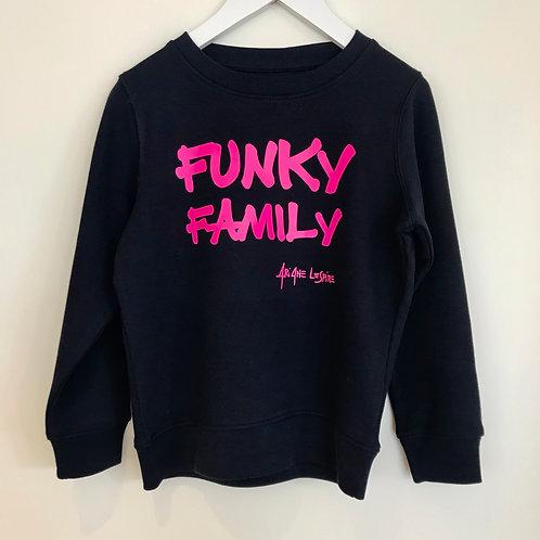 Sweater Ariane Lespire Funky family bleu