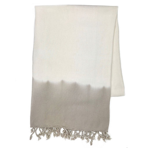 Sand Dip Dye Turkish Beach Towel