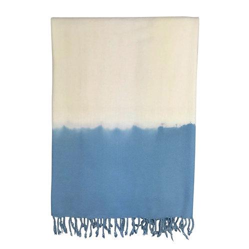 Ocean Dip Dye Turkish Beach Towel