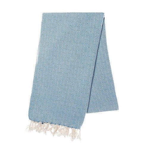 Lapis Diamond Turkish Towel
