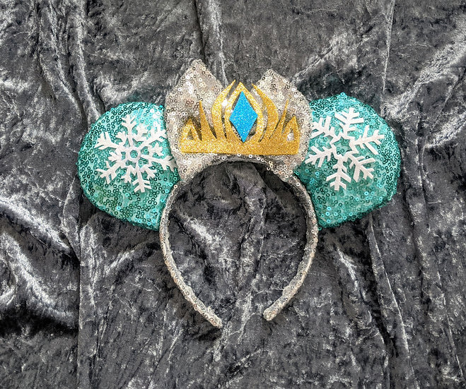 Snow Queen Mouse Ears