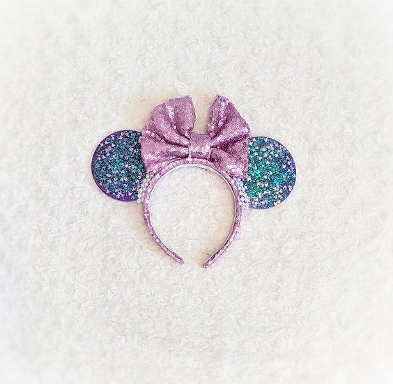 Haunted Purple Mouse Ears