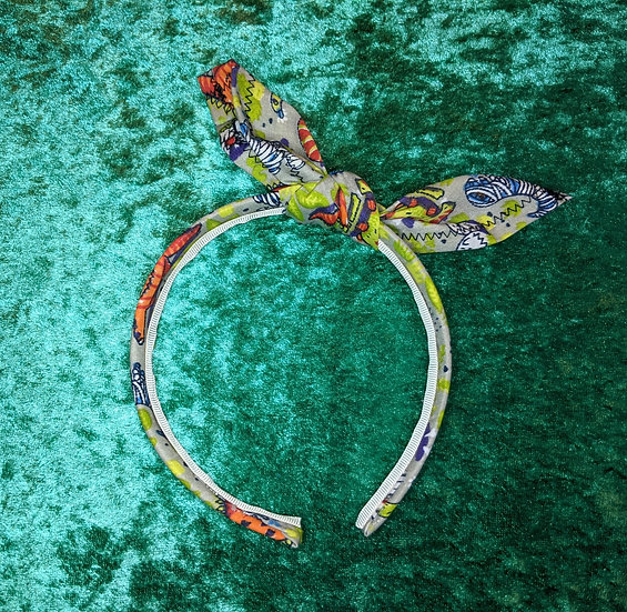 Halloween Party Dinosaurs Knotband