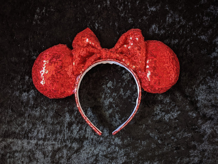 Ruby Mouse Ears