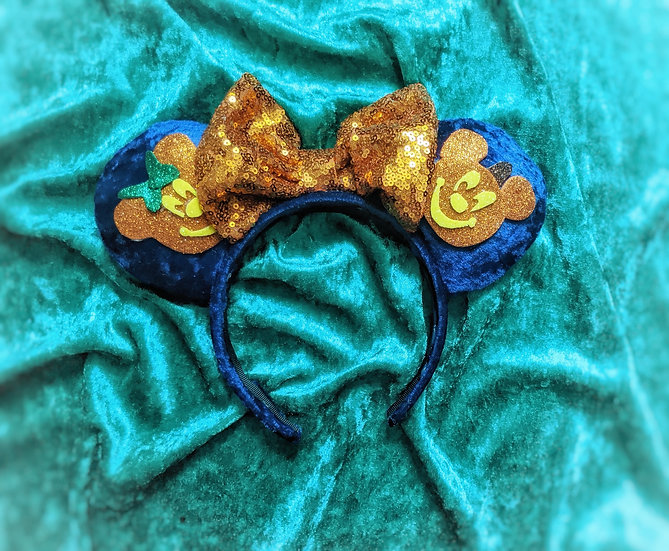 Pumpkin Party Mouse Ears