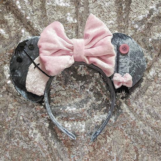 Sad Donkey Mouse Ears