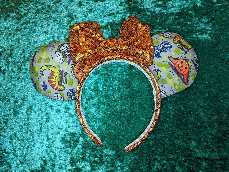 Halloween Party Dinosaurs Mouse Ears