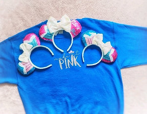 Pink or Blue Mouse Ears