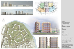 High-Rise Low-Cost Residential Development (Bachelor Diploma, 2008)
