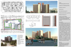 Student appartment building (Studio 44, 2012)