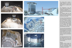 Hotel, sport and spa centre at the Red Lake ski resort - views & model (Specialist Diploma, 2010)