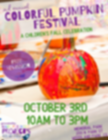 2nd annual colorful pumpkin festival.png