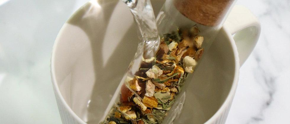 Glass Tea Strainer