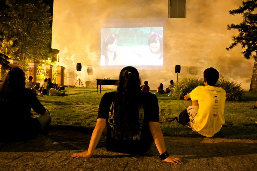 Cinema na Rua