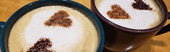 Cafés e leites especiais