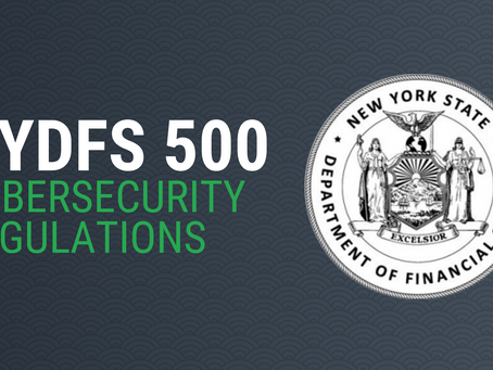 Atlasity Announces Support for NYDFS Cybersecurity Regulations