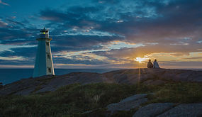 Sunrise at Cape Spear Lighthouse Nationa